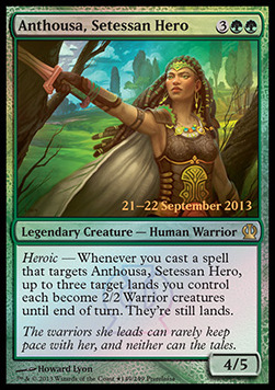 Anthousa theros Magic setessan Hero anthusa, héroïne de setessa
