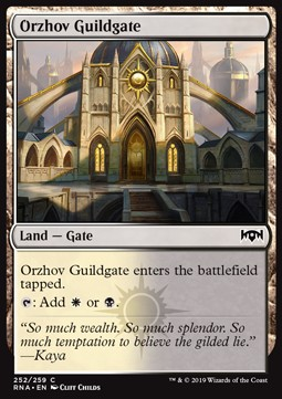 Orzhov Guildgate Ravnica Allegiance Pricetrend Orzhov enchantments is in a pretty sweet spot at the moment and i had an absolute blast with this list! the magic wantlist optimizer